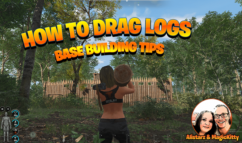 How To Drag Logs For Base Building