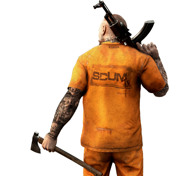 Scum Character PNG