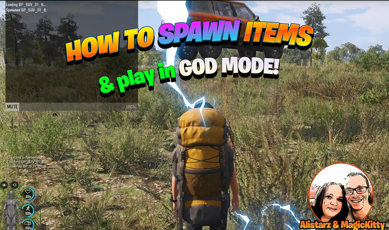 How To Spawn Items In Scum & Play in God Mode