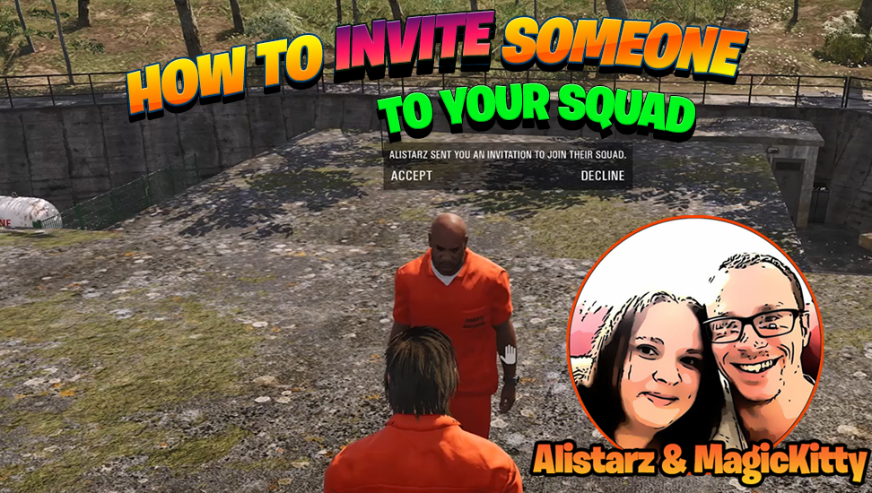 How To Invite Someone To Your Squad