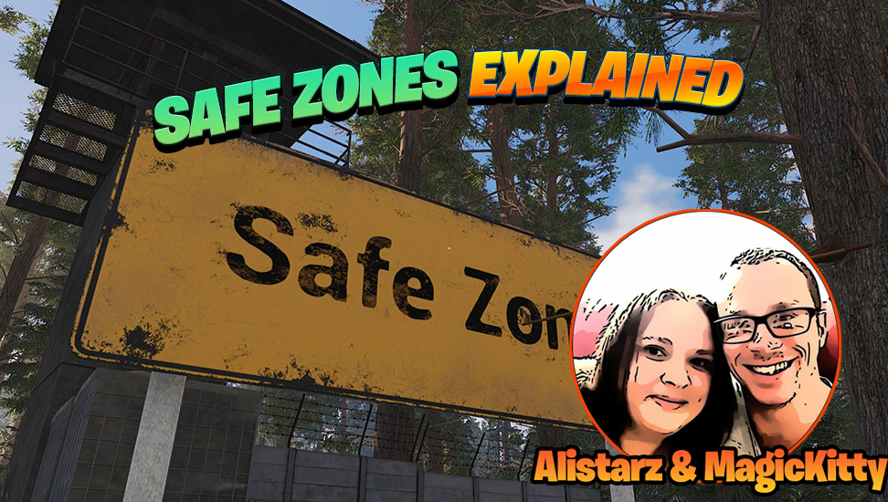 What are Green Spots on the map? Safe Zones Explained