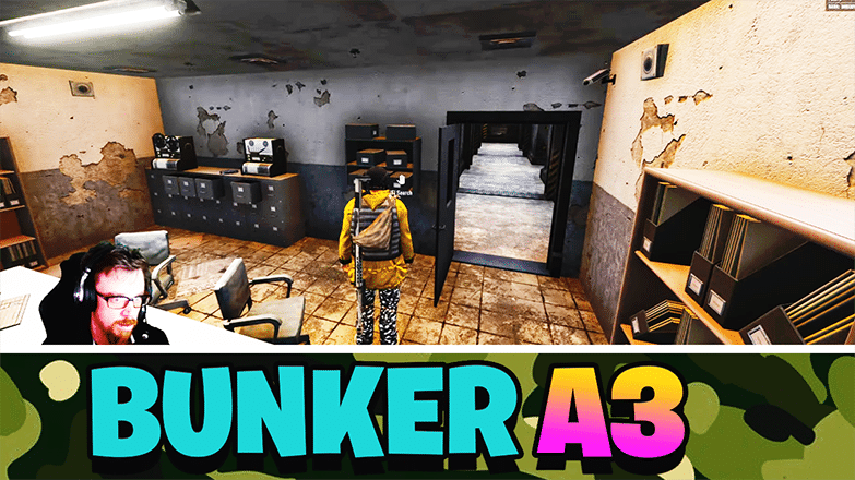 How to Enter and Exit A3 Bunker