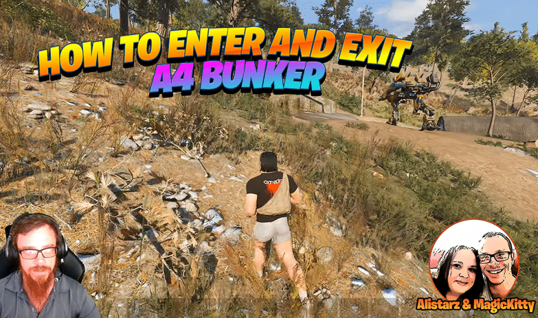 How to Enter and Exit A4 Bunker