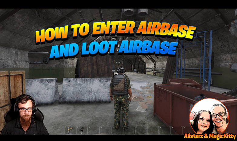 How To Get in Airbase and Loot Airbase