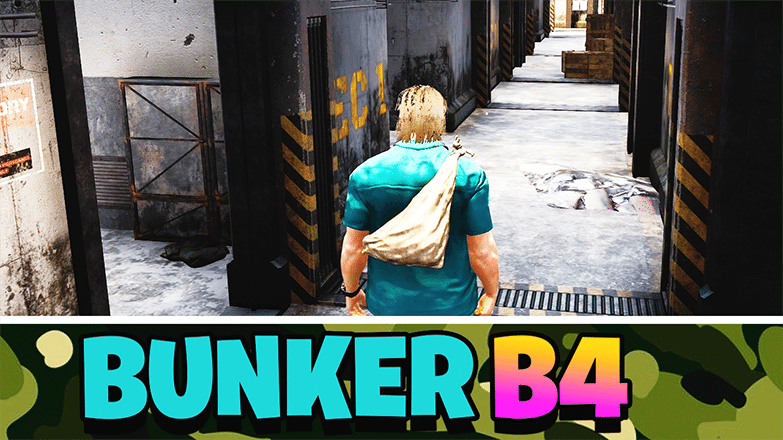 How to Enter and Exit B4 Bunker