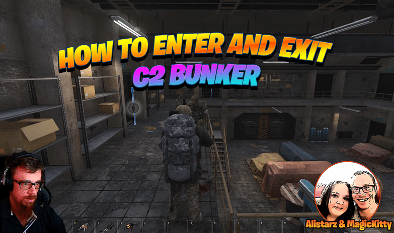 How to Enter and Exit C2 Bunker