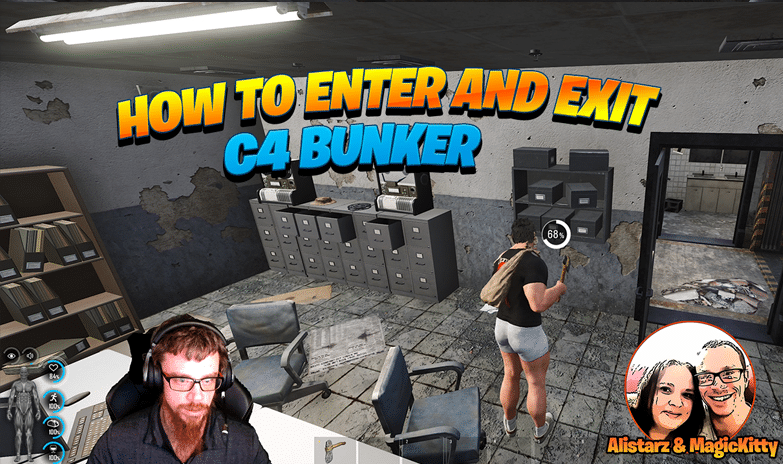 How to Enter and Exit C4 Bunker
