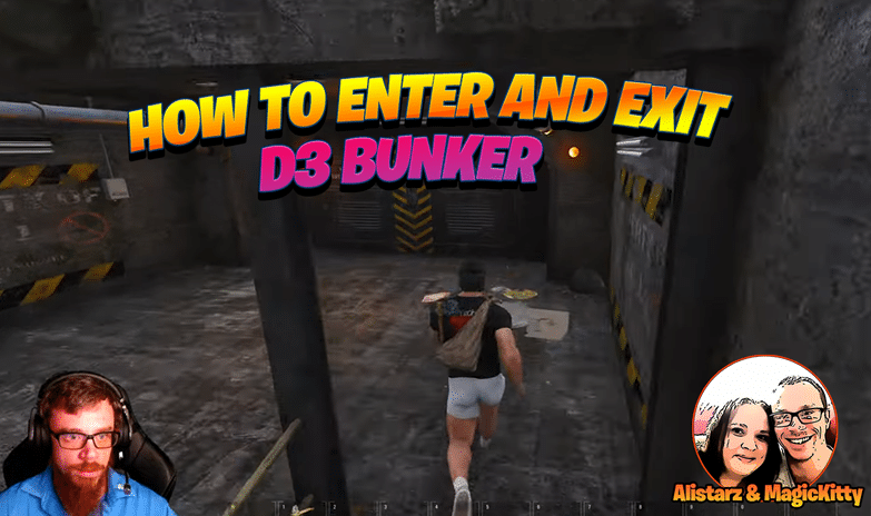 How to Enter and Exit D3 Bunker