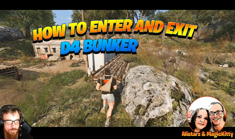 How to Enter and Exit D4 Bunker