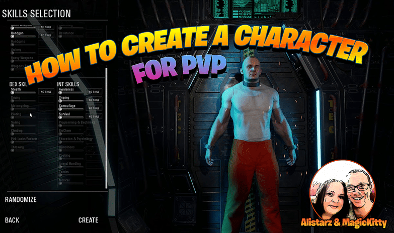 How to Create a Character for PVP