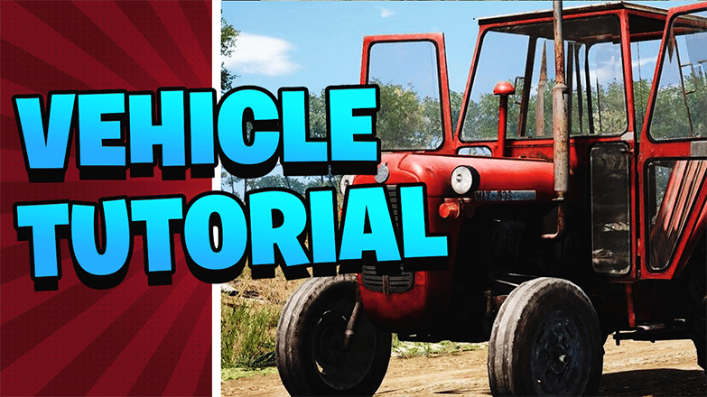 Vehicle Tutorial and Vehicle Scum 4.0 Updates