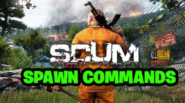 Scum Game Spawn Commands