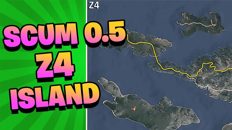 Scum Z4 Island Overview