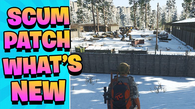 Scum Patch & Supporters Pack - WHATS NEW!