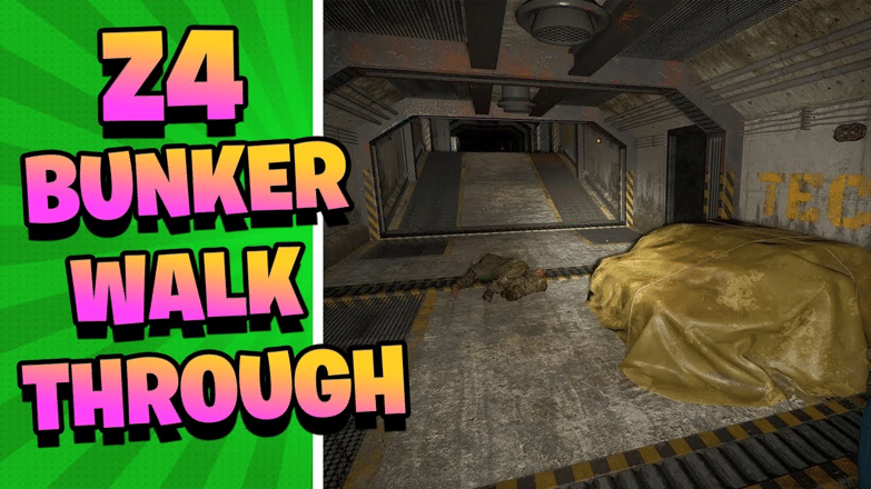 Scum Z4 Bunker Walkthrough